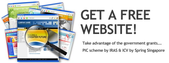 pic grant, spring icv, singapore, free website, websites